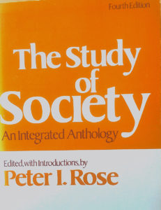 The Study of Society: An Integrated Anthology