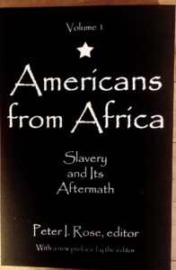 Americans from Africa Vol. 1: Slavery and Its Aftermath