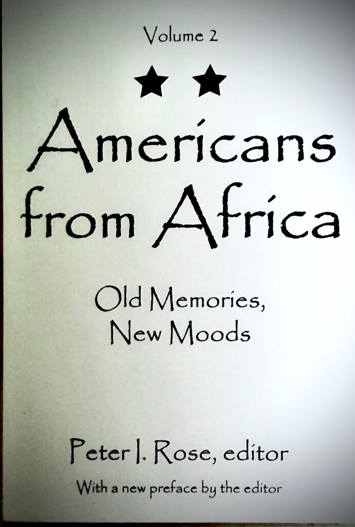 Americans from Africa Vol. 2: Old Memories, New Moods